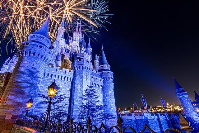Castle Fireworks | Magic Kingdom