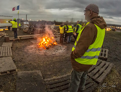 gilets jaunes soir 2018 12 - Photo of Thionville
