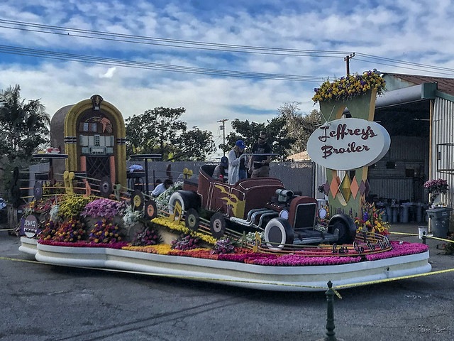 Downey Rose Parade Float 2019