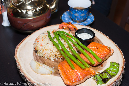 Salmon Dish, Marco and Polo, Hyattsville, MD