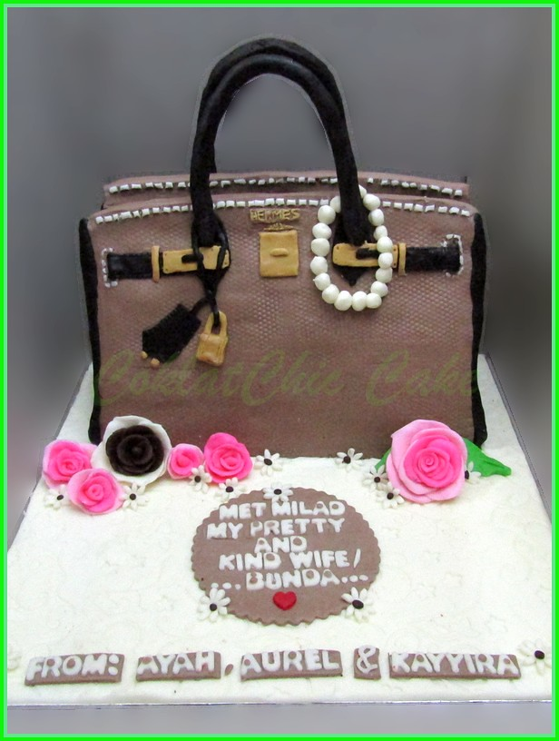 Cake Branded Bag BUNDA 22 cm