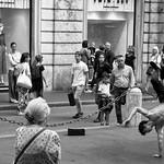 Dancing in the street. - https://www.flickr.com/people/56334128@N07/