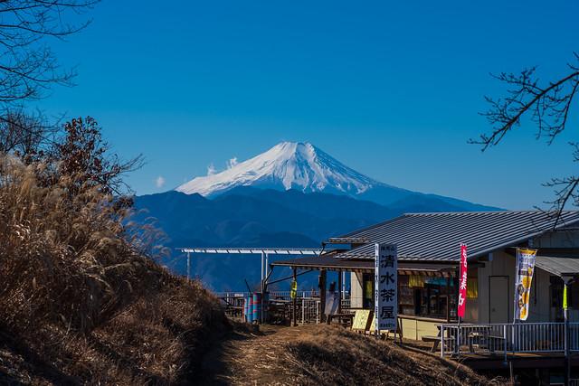 いつもの場所から富士山