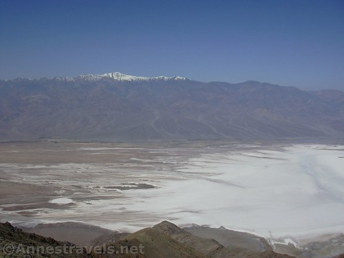 Views of Death Valley and Telescope Peak from Dante's View, California