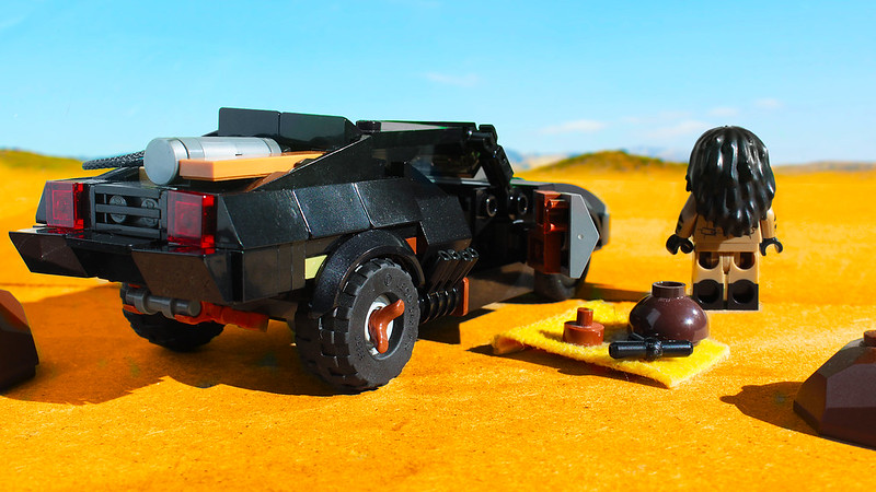 LEGO V8 Interceptor from Mad Max Fury Road