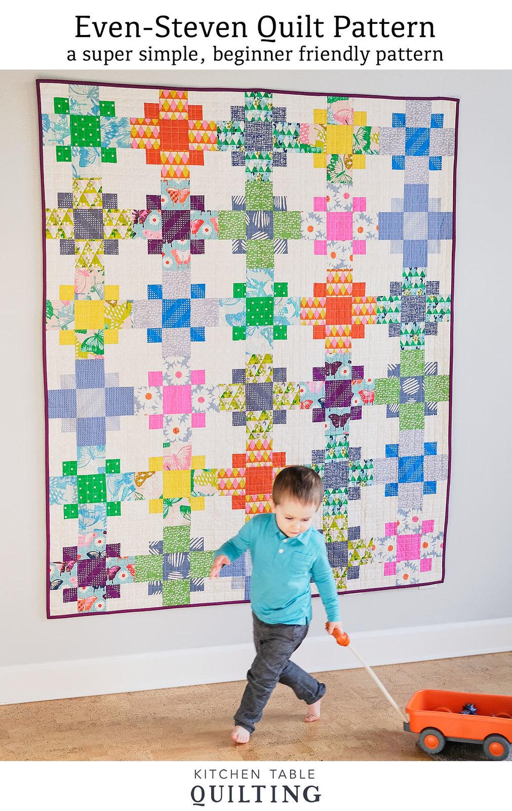 Even-Steven Quilt Pattern