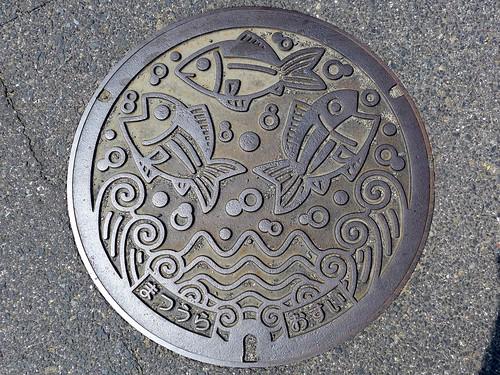 Matsuura Nagasaki, manhole cover (長崎県松浦市のマンホール)
