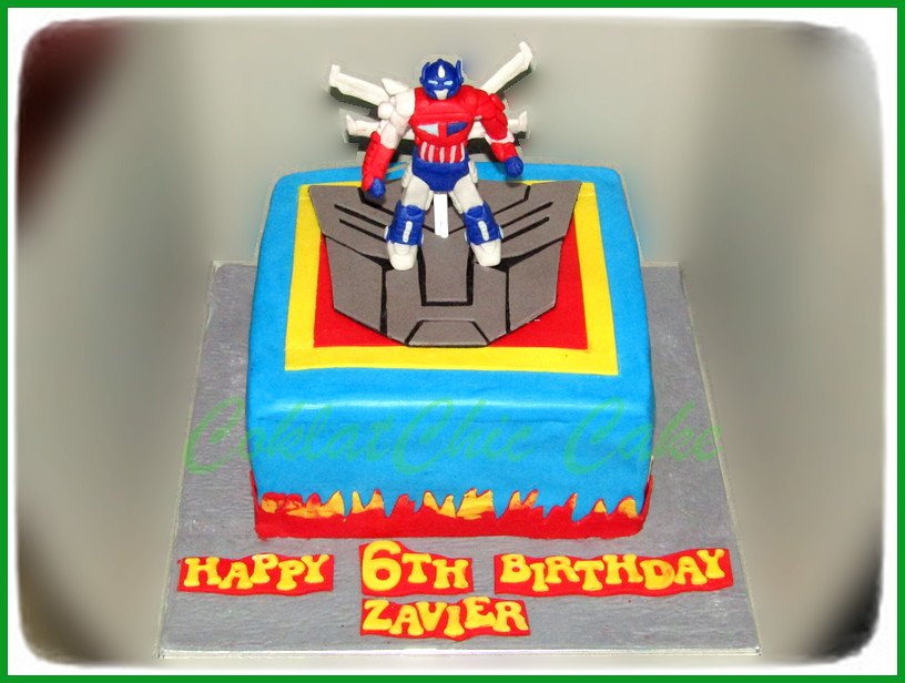 Cake the Transformers ZAVIER 22 cm