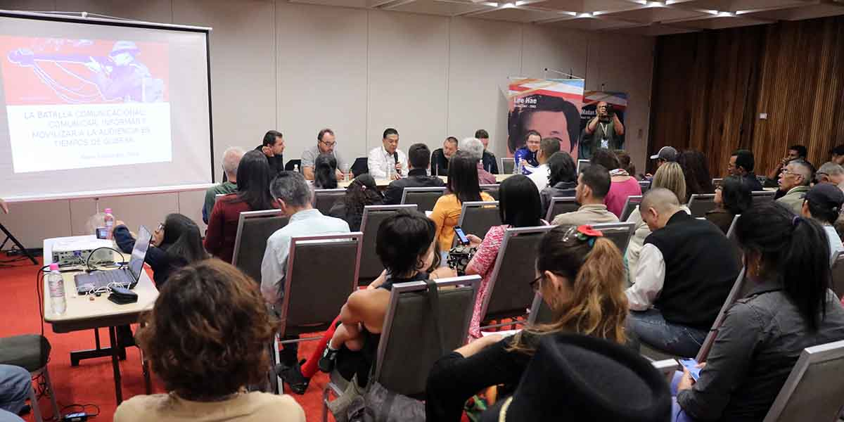 Asamblea Internacional de los Pueblos rompe cerco comunicacional a través de Foro de Comunicación Digital