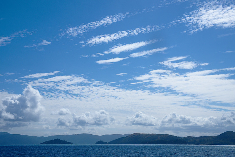 Clouds, Whitsundays