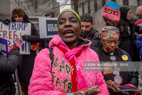 Patricia Okoumou ordered to appear in federal court