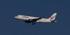 N586JB - Airbus A320 - JetBlue