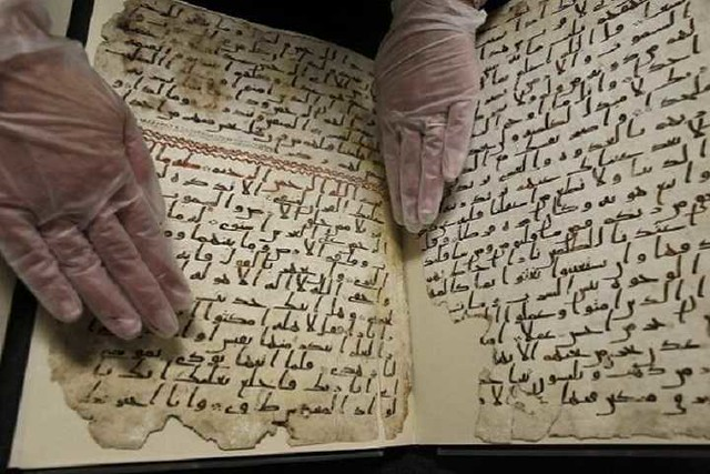 4907 When was the Holy Quran written, compiled and punctuated 02