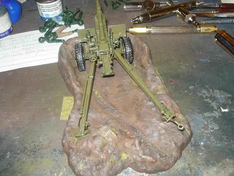 105 mm Howitzer - Revell 50-års jubileums utgåva 46761705742_6553027a2d_b