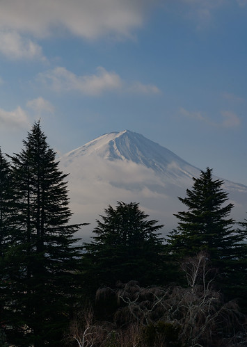 Fuji from the Hotel