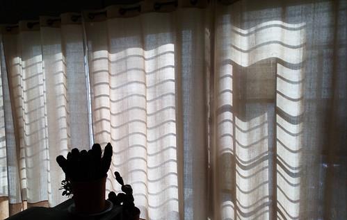 Machine ou simple rideaux, Micronésie d'interférences