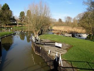 Luddington-Lock on the River Avon