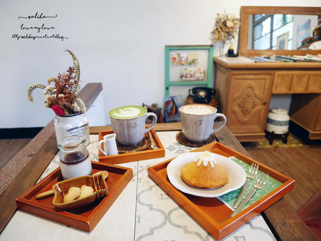 宜蘭礁溪湯圍溝溫泉公園附近餐廳PonPon乓乓雜貨咖啡廳下午茶推薦 (1)