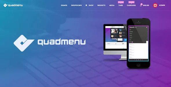 QuadMenu v1.8.0 - Themes Developer Mega Menu