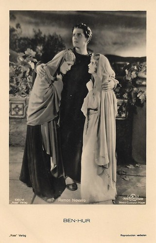 Ramon Novarro, Claire McDowell and May McAvoy in Ben-Hur (1925)