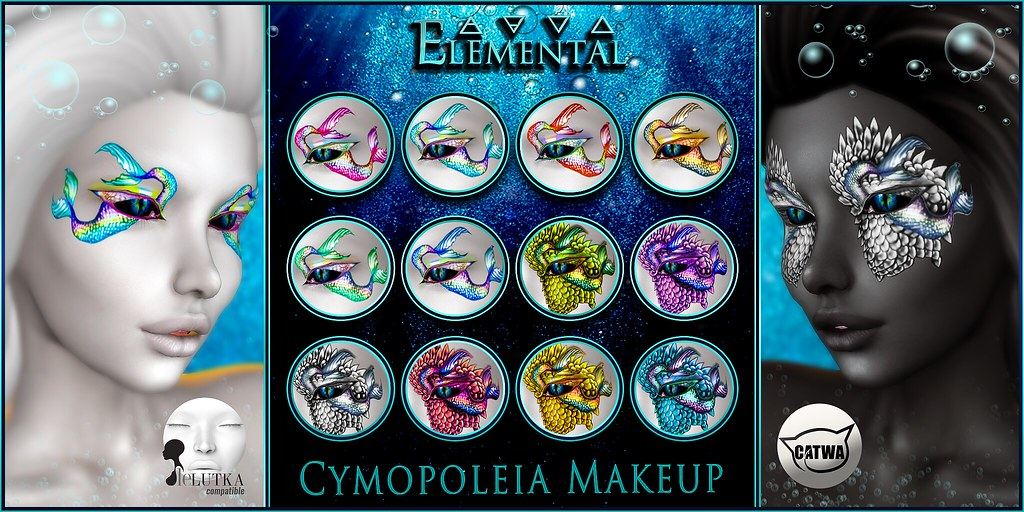 – ELEMENTAL – 'Cymopoleia ' Makeup Advert