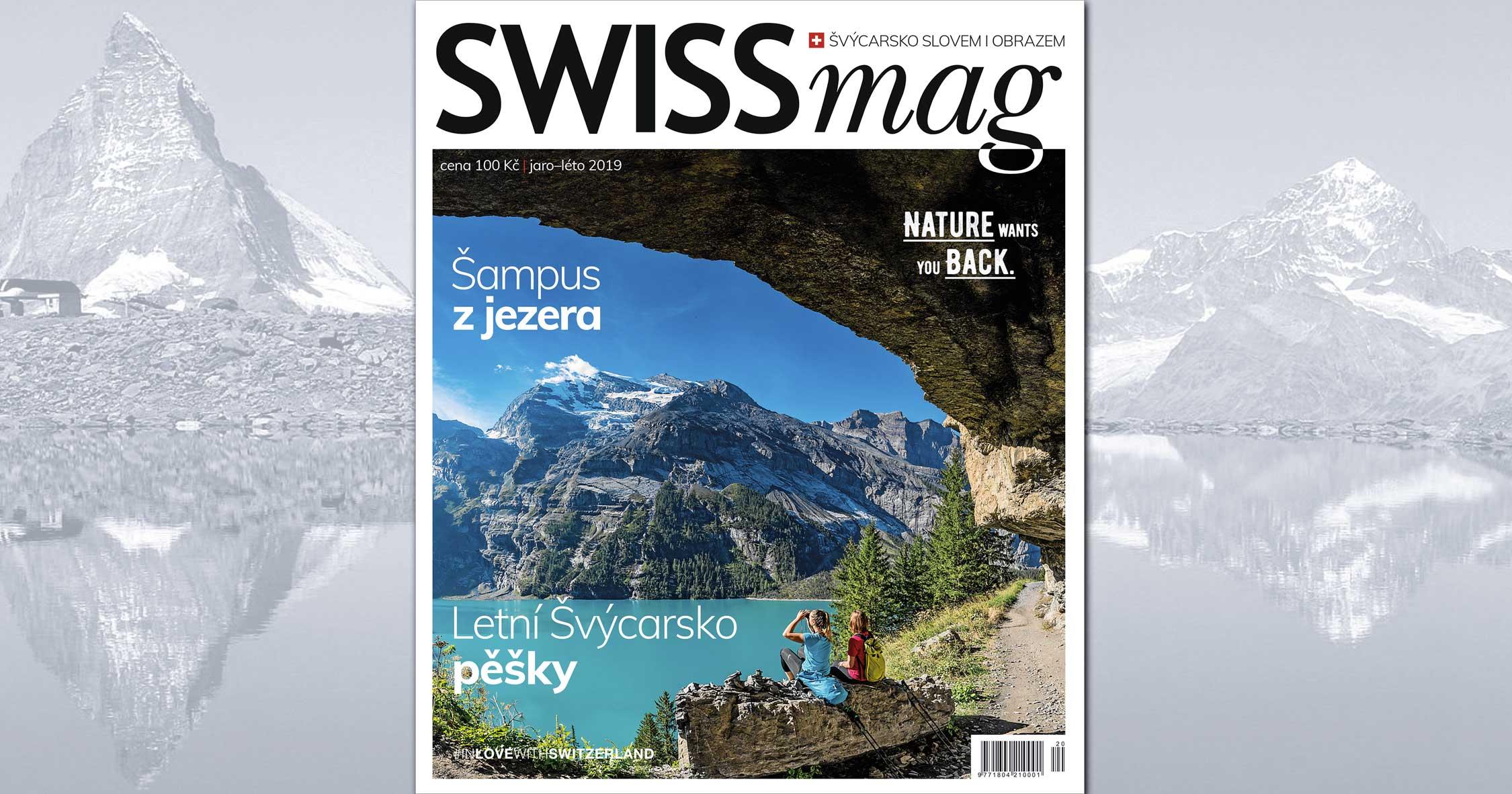 SWISSmag 20 - jaro/léto 2019