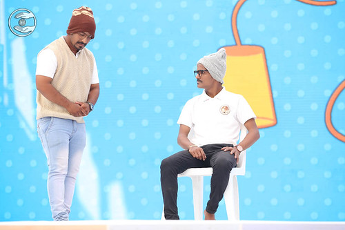 A skit by young devotees