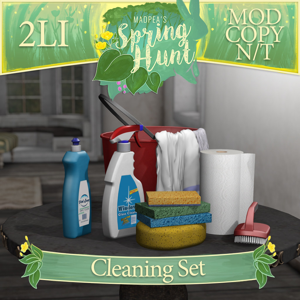 MadPea Spring Hunt -  Cleaning Set! - TeleportHub.com Live!