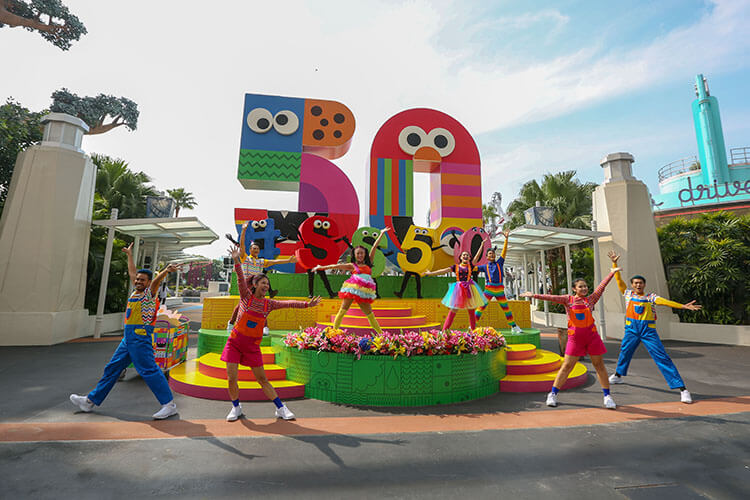 Sesame Street 50th Anniversary Party