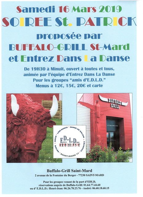Affiche 16 Mars 2019 - Buffalo-Grill - GROUPES Copie 001