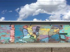 Mural along the S-Line