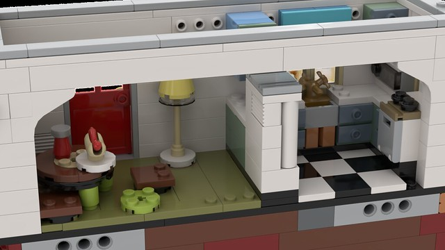 Lego The Loud House Kitchen