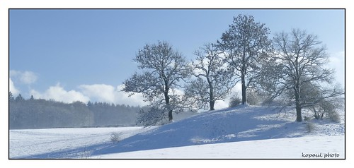 Winterlandschaft Hauset/Belgien