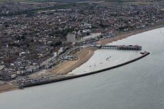 Herne Bay in Kent - aerial image