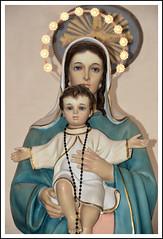 Roma - Chiesa di San Sebastiano - Madonna con Bambino