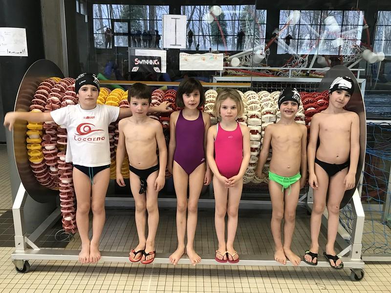 Nuoto: Kids 2 Trevano 23.2.19