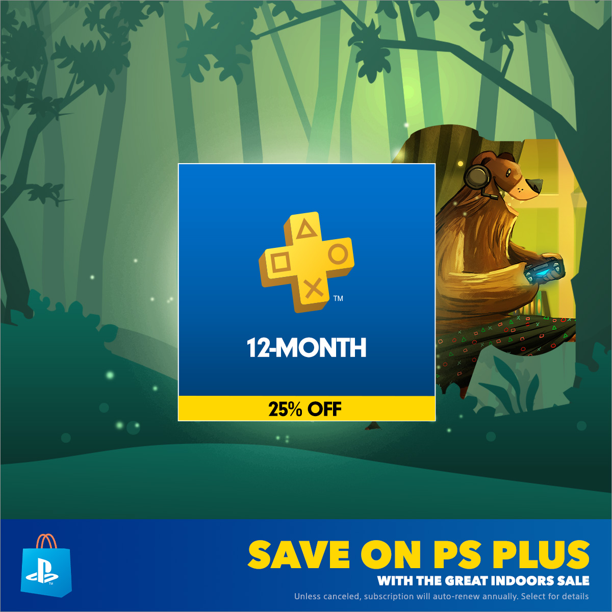 Enjoy the Great Indoors with up to 65% off at PS Store