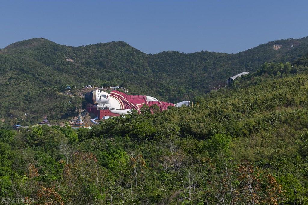 Lying Buddha - Win Sein Monastery