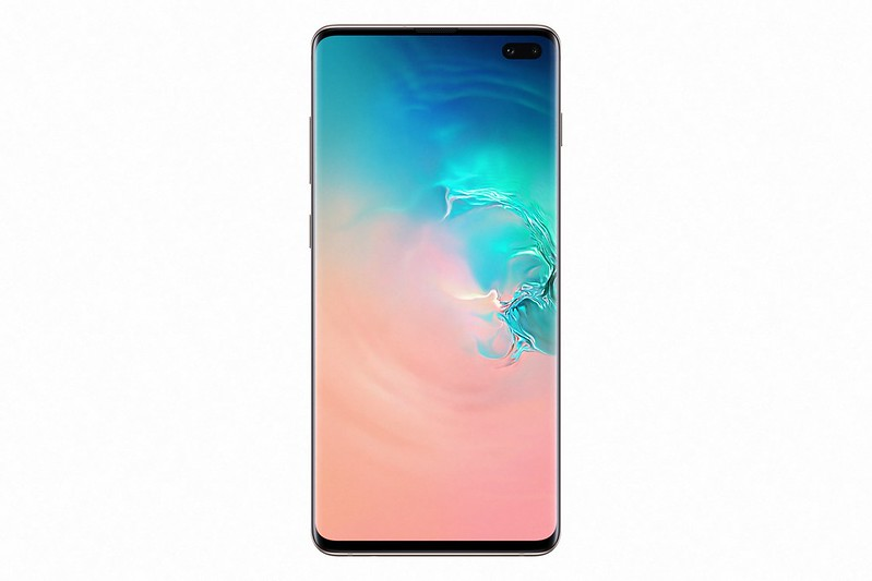 Samsung Galaxy S10+ - Ceramic White - Front
