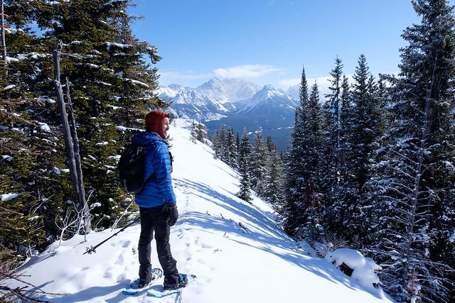 Snowshoeing - Gypsum Ridge - Feb 2019-7