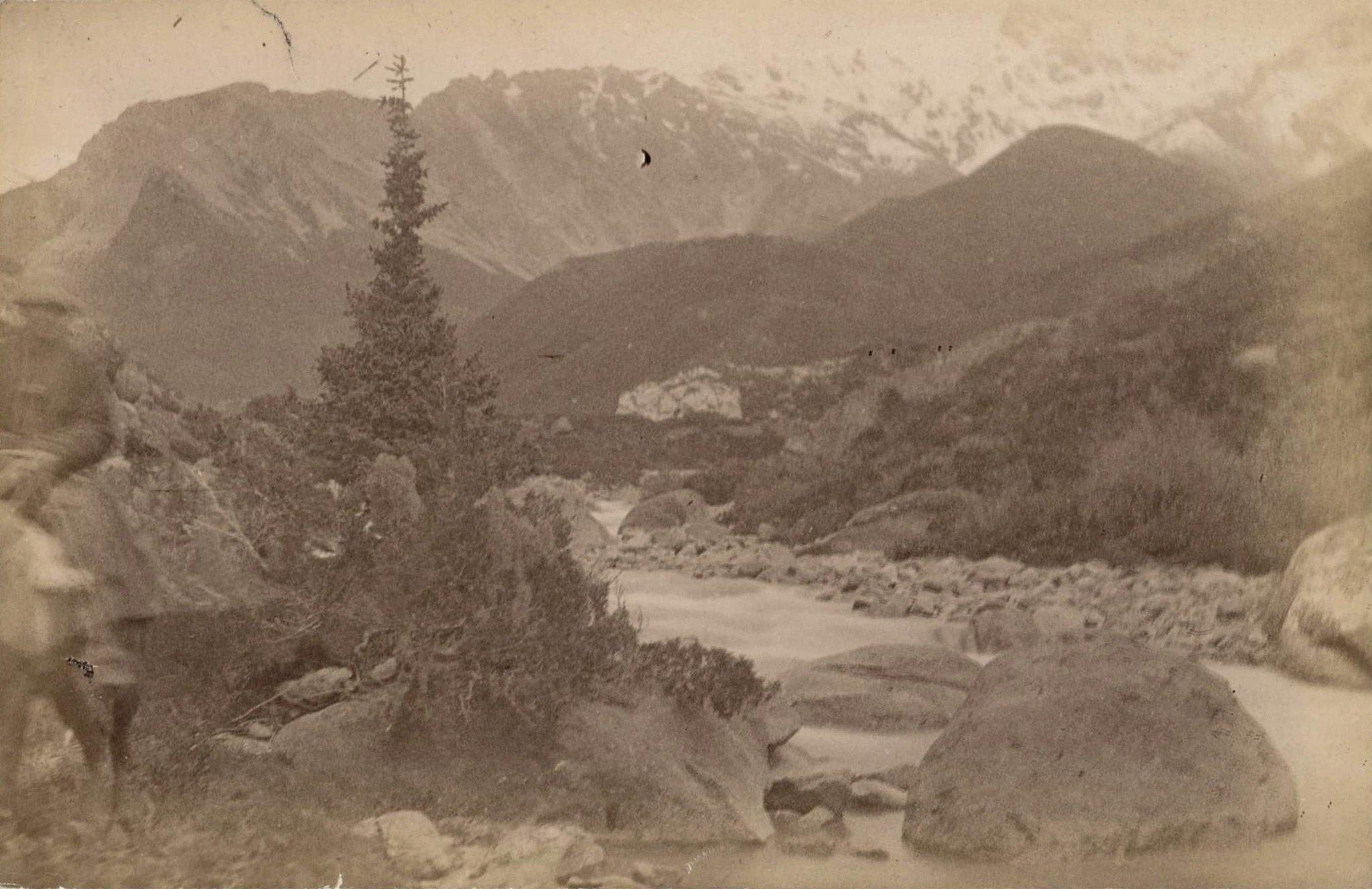 19. Река Каркара в Терскейских горах