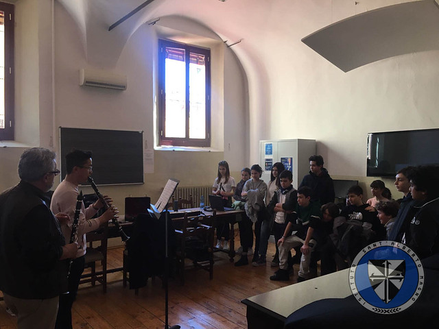 """Visita al Conservatorio """"G. B. Martini"""""""