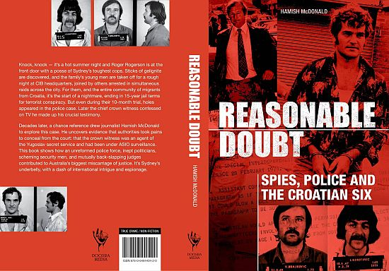 Reasonable Doubt book by Hamish McDonald cover (1)