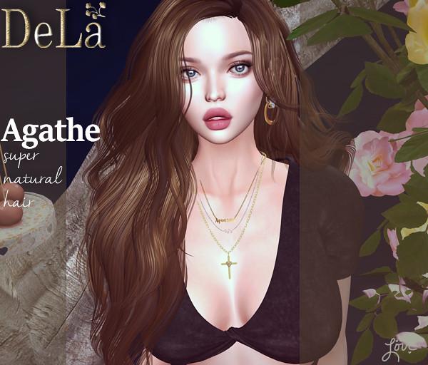 "=DeLa*= new hair ""Agathe"" - TeleportHub.com Live!"