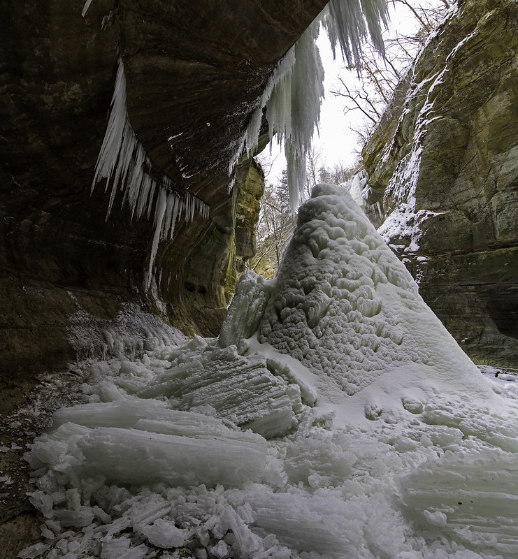Tonti Canyon Icefall