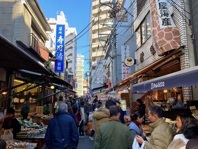 Tsukiji fish market 2018 95