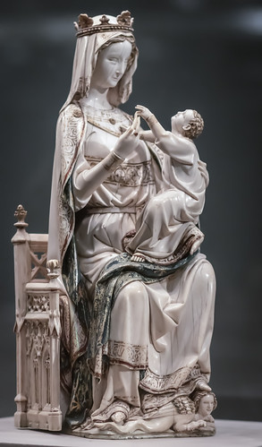 Virgin and Child, French, c 1275-1300 1/17/15 #metmuseum #artmuseum