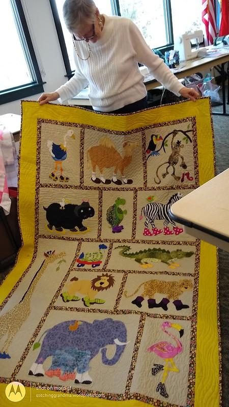 Sharon's whimsical quilt