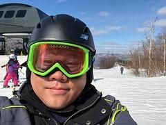 It's a beautiful sunny Sunday to ride a new mountain! :snowboarder: #snowboarding #JiminyPeak