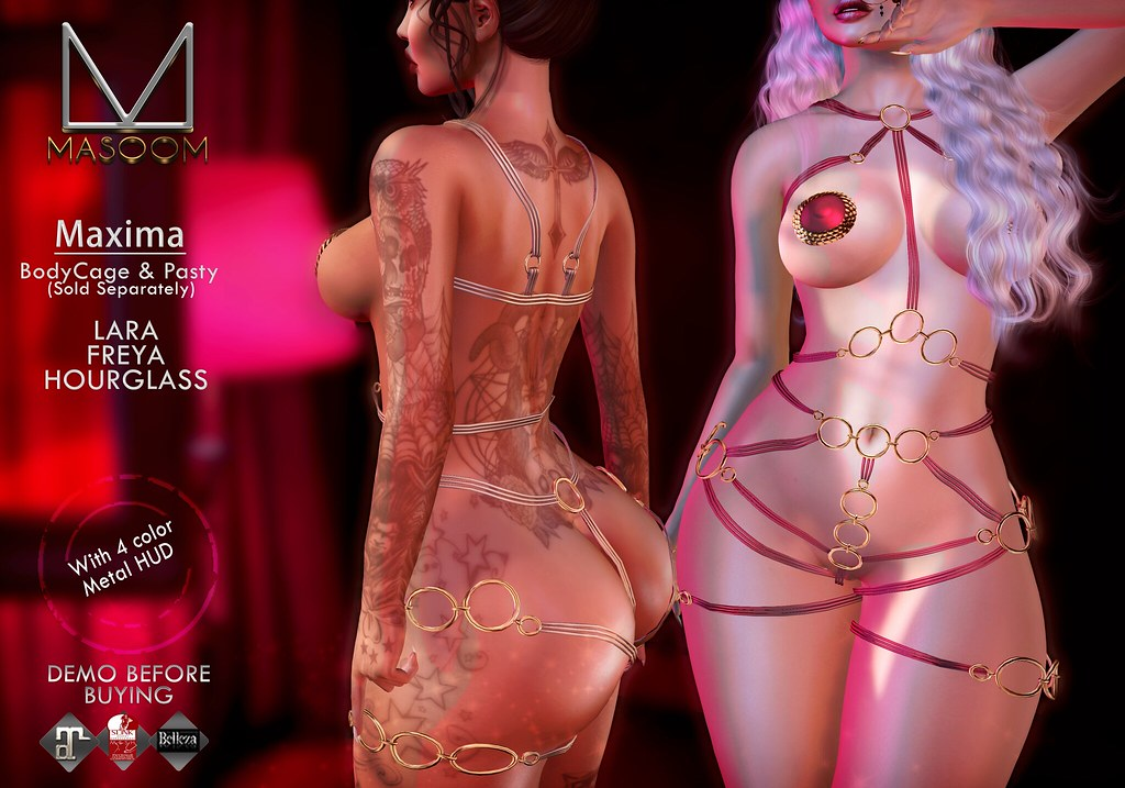 [[ Masoom ]] Maxima Bodysuit and Pasty @ Whore Couture
